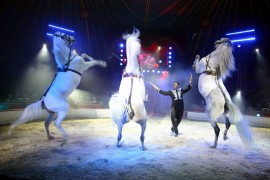 Spaaractie Wintercircus via We Do Retail