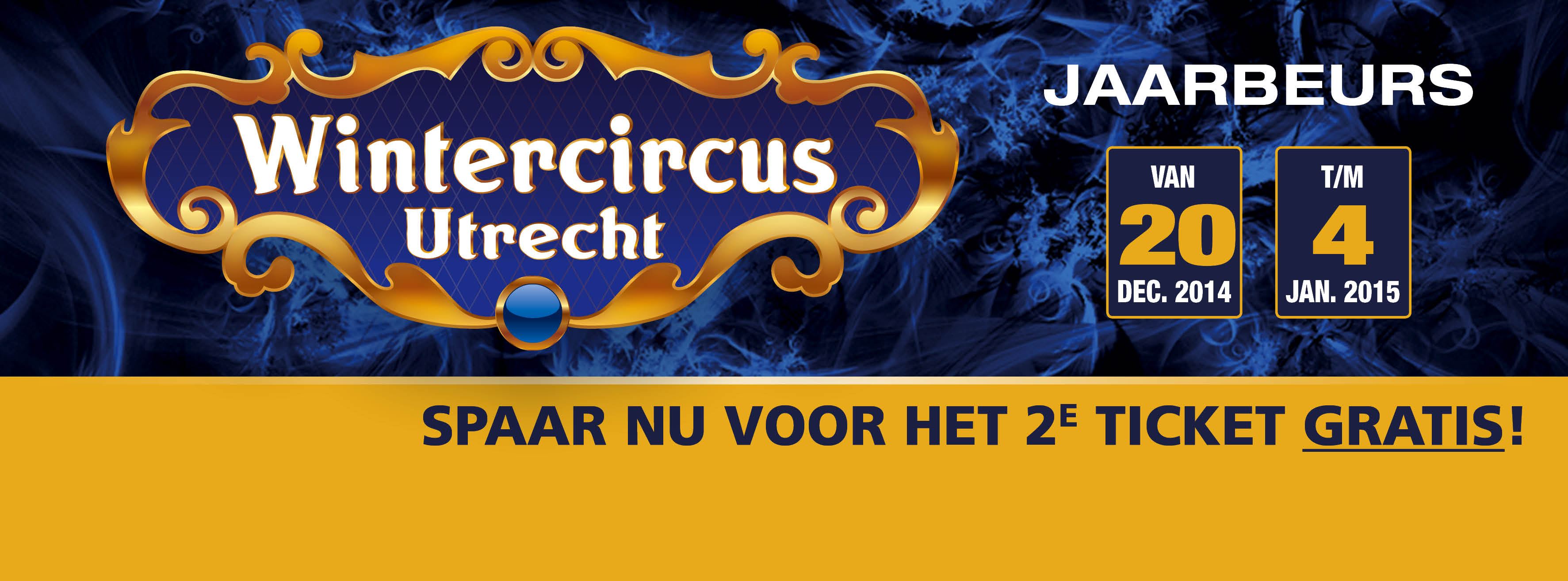 Wintercircus spaaractie met We Do Retail